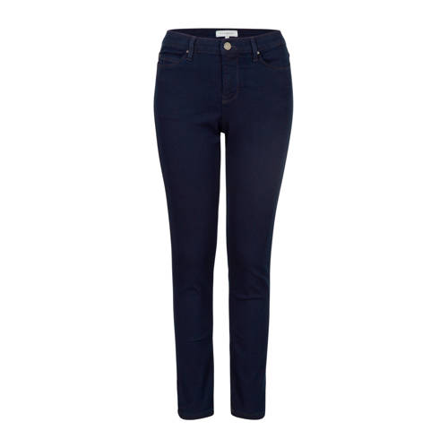 PROMISS slim fit jeans donkerblauw