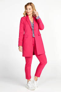 PROMISS lange blazer neon roze, Neon roze