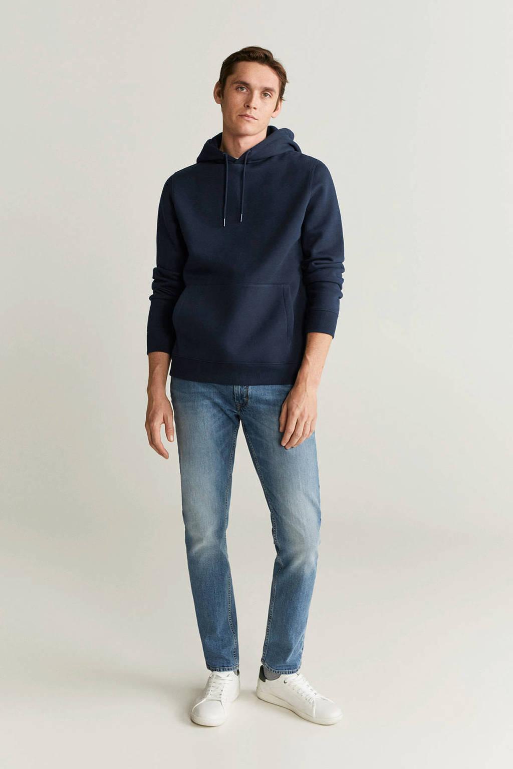 Mango Man hoodie marineblauw, Marineblauw
