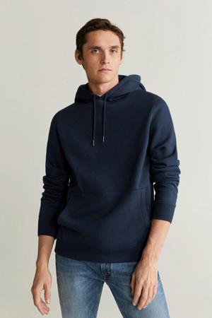 hoodie marineblauw