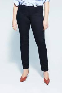 Violeta by Mango slim fit jeans zwart, Zwart
