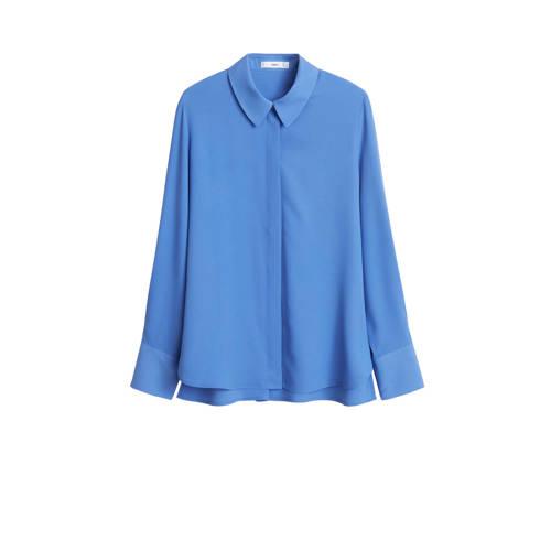 Mango blouse blauw