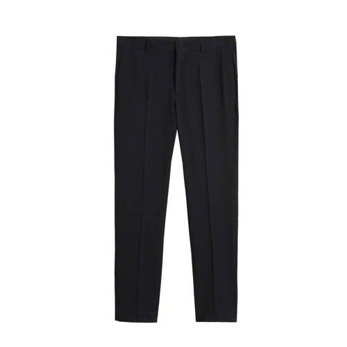 Mango Man skinny pantalon zwart