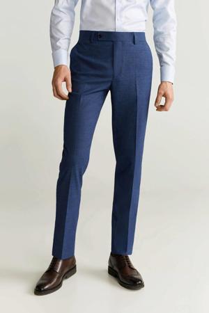 slim fit pantalon turkoois