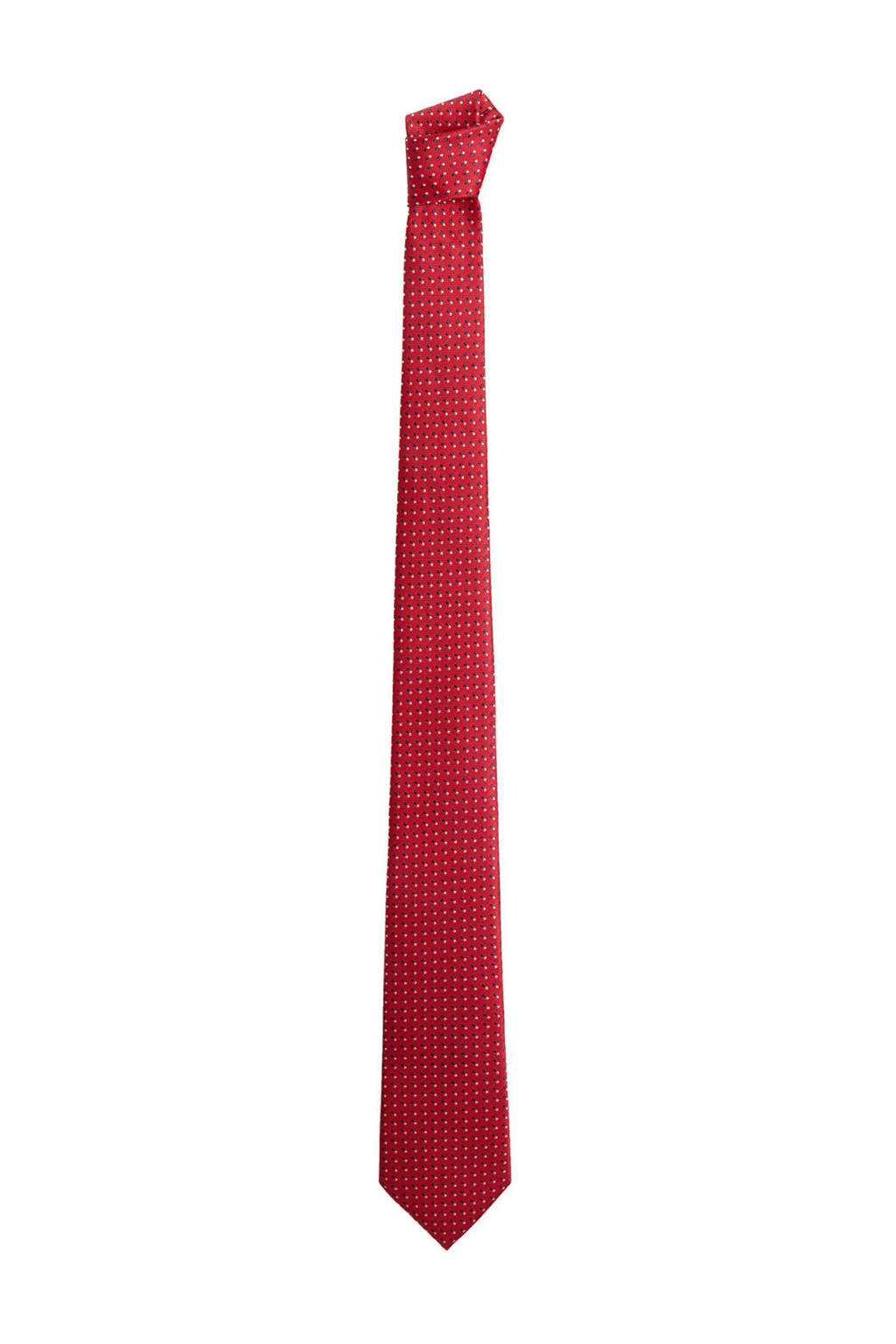 Mango Man stropdas rood, Rood