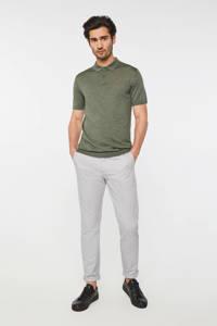 WE Fashion Fundamentals slim fit pantalon sesame, Sesame