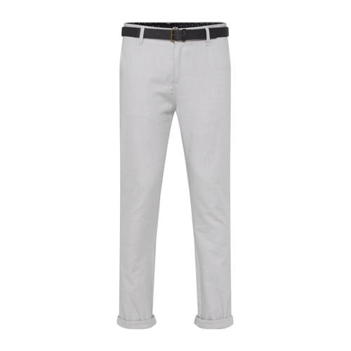 WE Fashion slim fit pantalon sesame