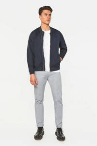 WE Fashion Fundamentals slim fit pantalon royal navy, Royal Navy