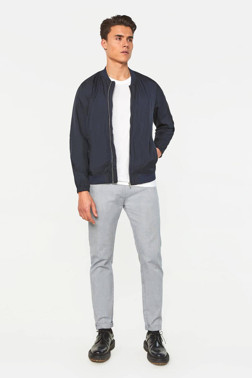 WE Fashion slim fit pantalon royal navy, Royal Navy