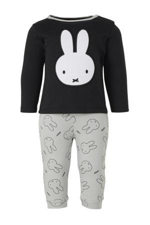 pyjama nijntje zwart/wit/mintgroen