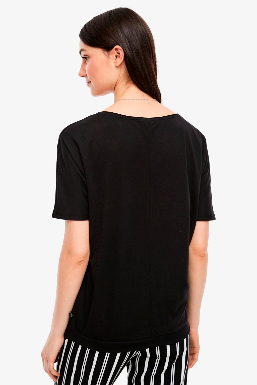 Q/S designed by T-shirt violet, Zwart