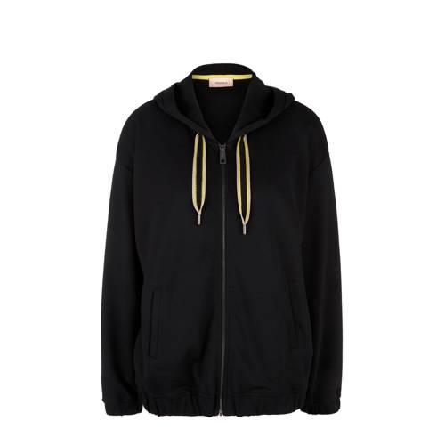 TRIANGLE vest zwart