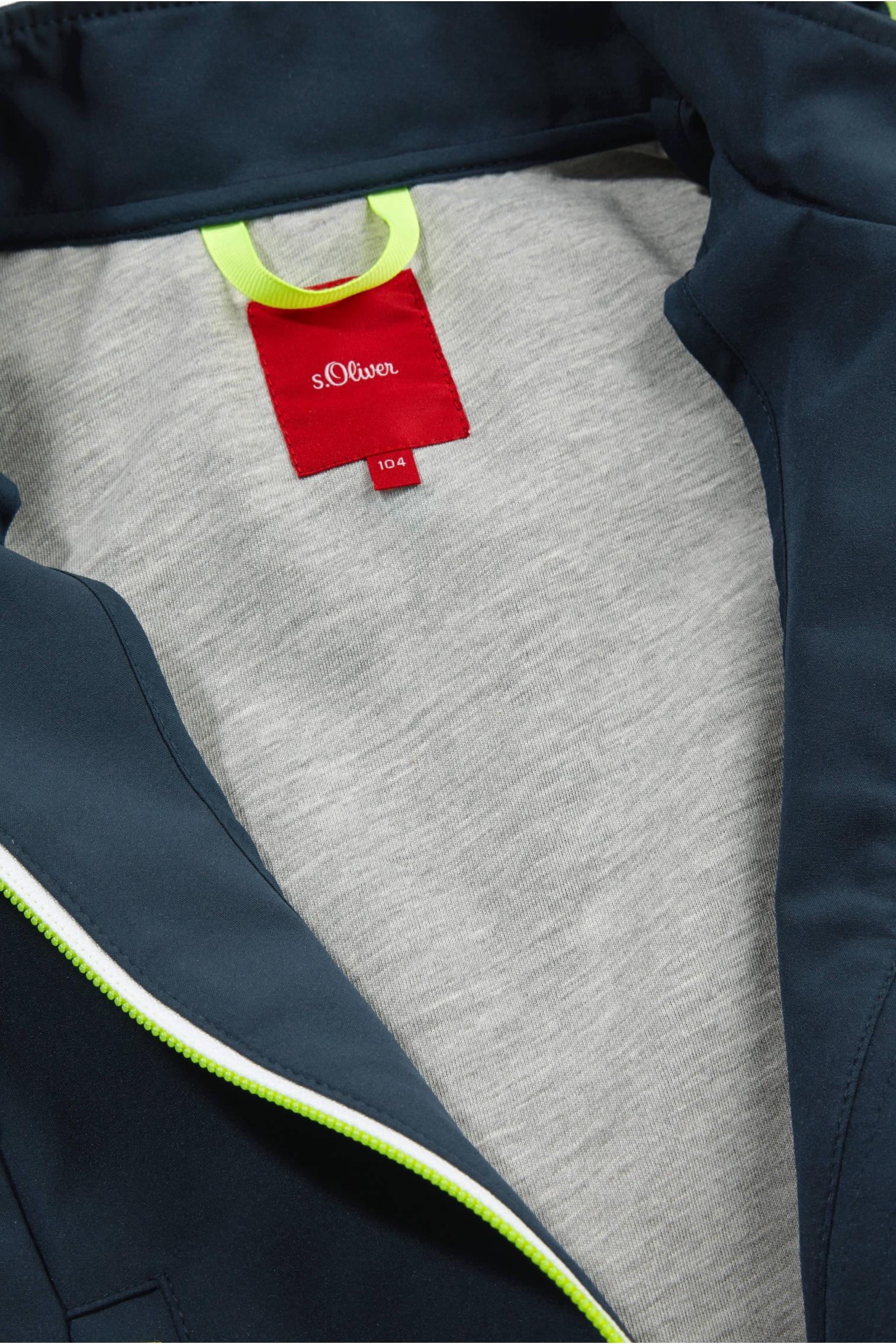 zomerjas donkerblauwfel geel