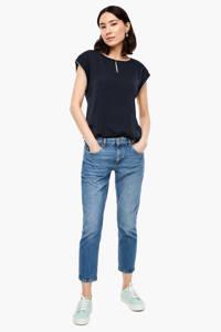 s.Oliver T-shirt marineblauw, Marineblauw