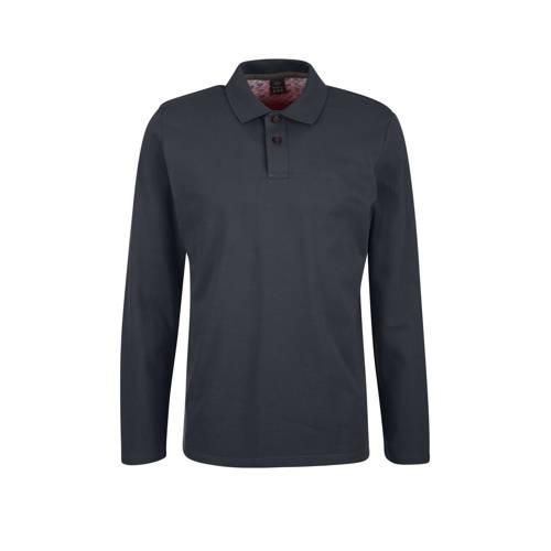 s.Oliver slim fit overhemd grijs
