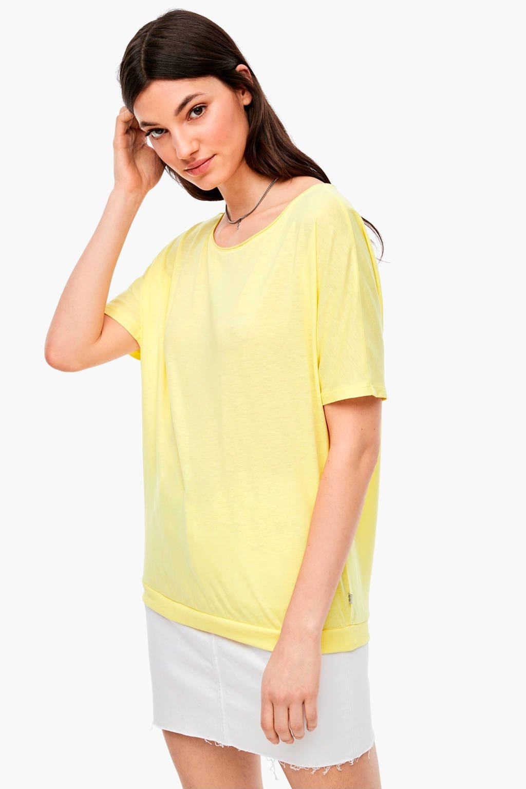 Q/S designed by T-shirt geel, Geel