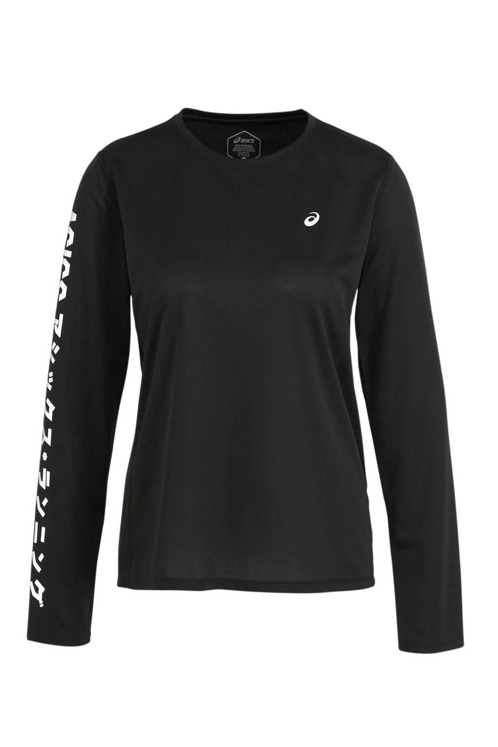 ASICS T-shirt zwart, Zwart