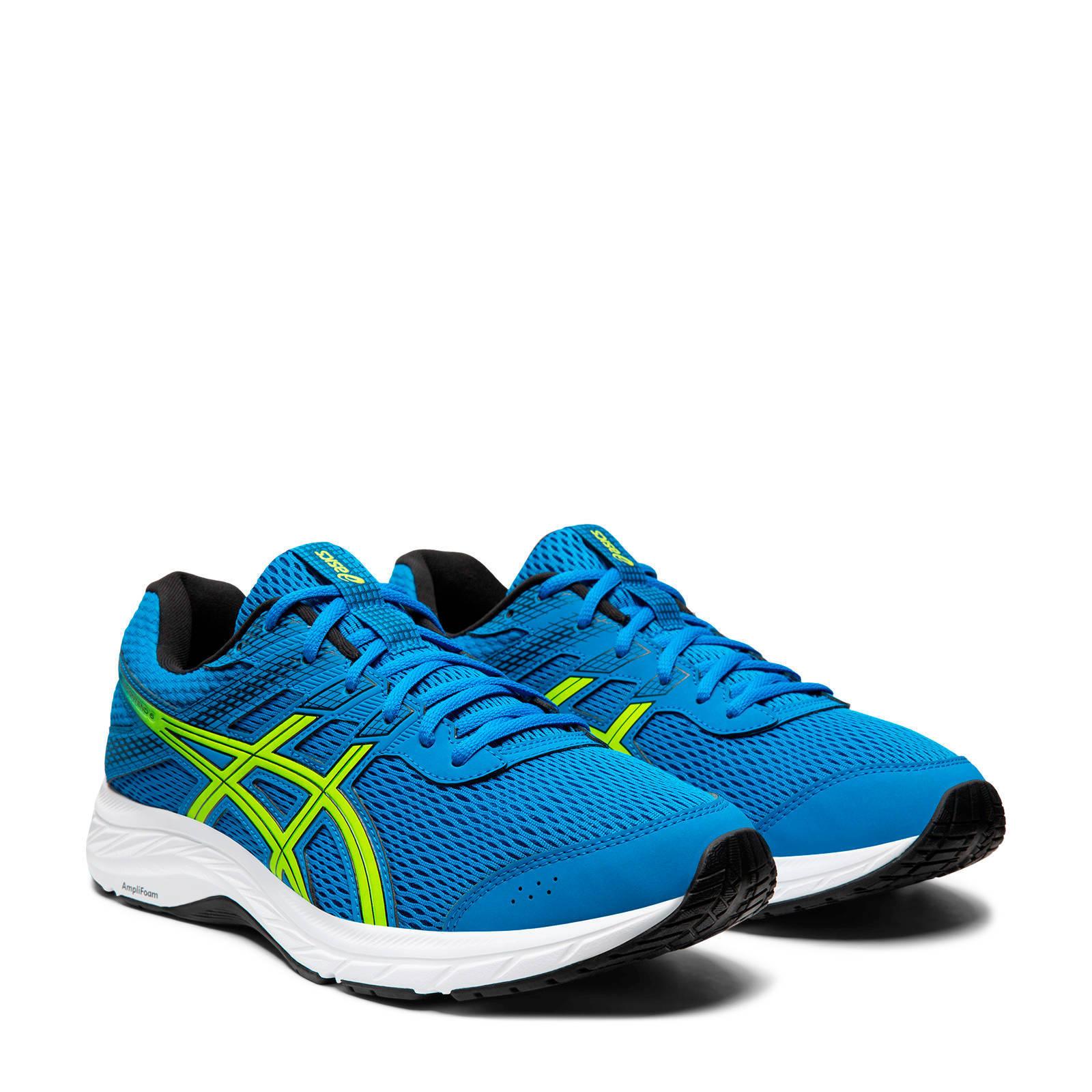 asics schoenen blauw