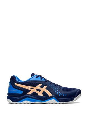 Gel-Challenger 12 Clay tennisschoenen donkerblauw/goud