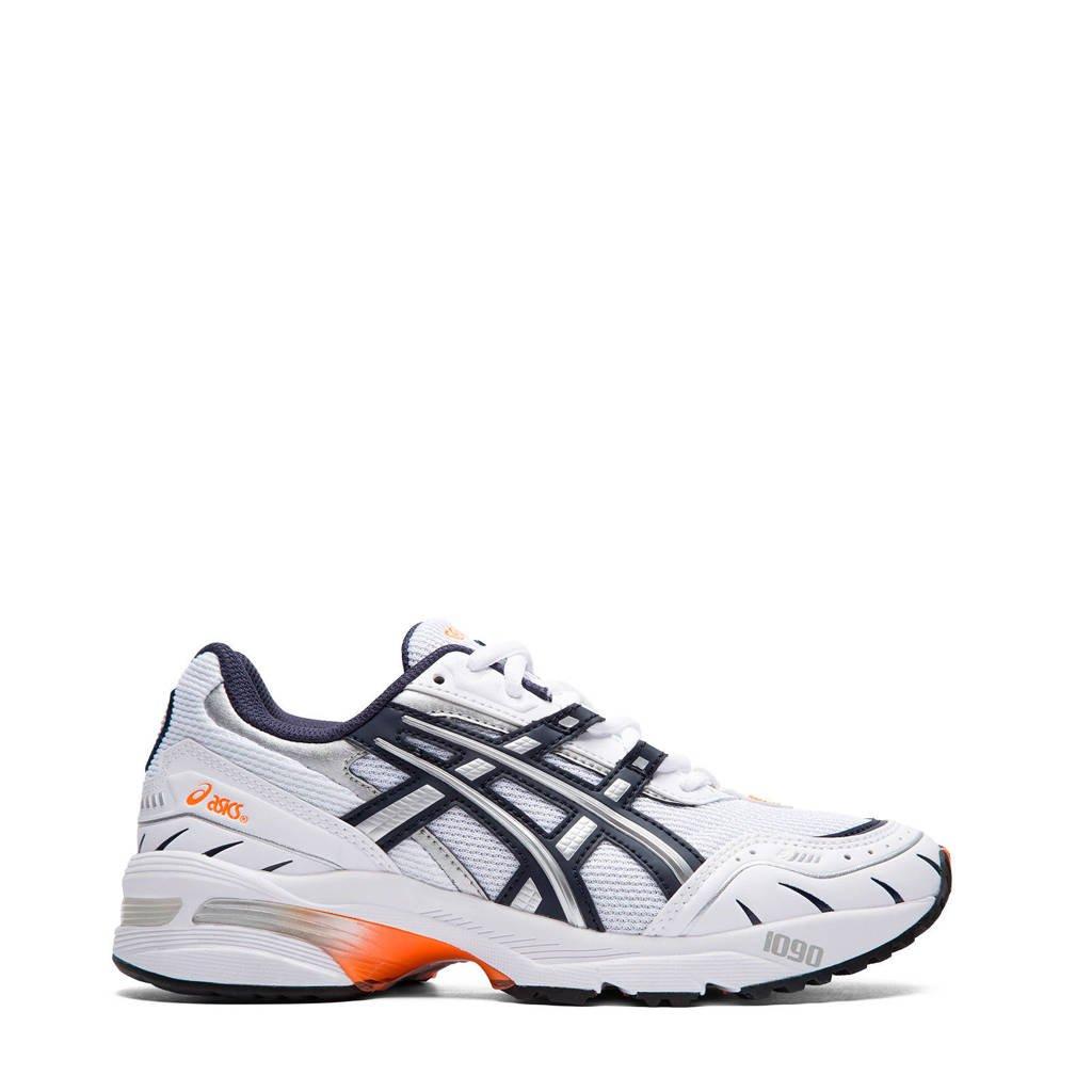 ASICS Gel-1090  sneakers wit/donkerblauw, Wit