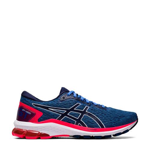 ASICS GT-1000 9 hardloopschoenen blauw/rood