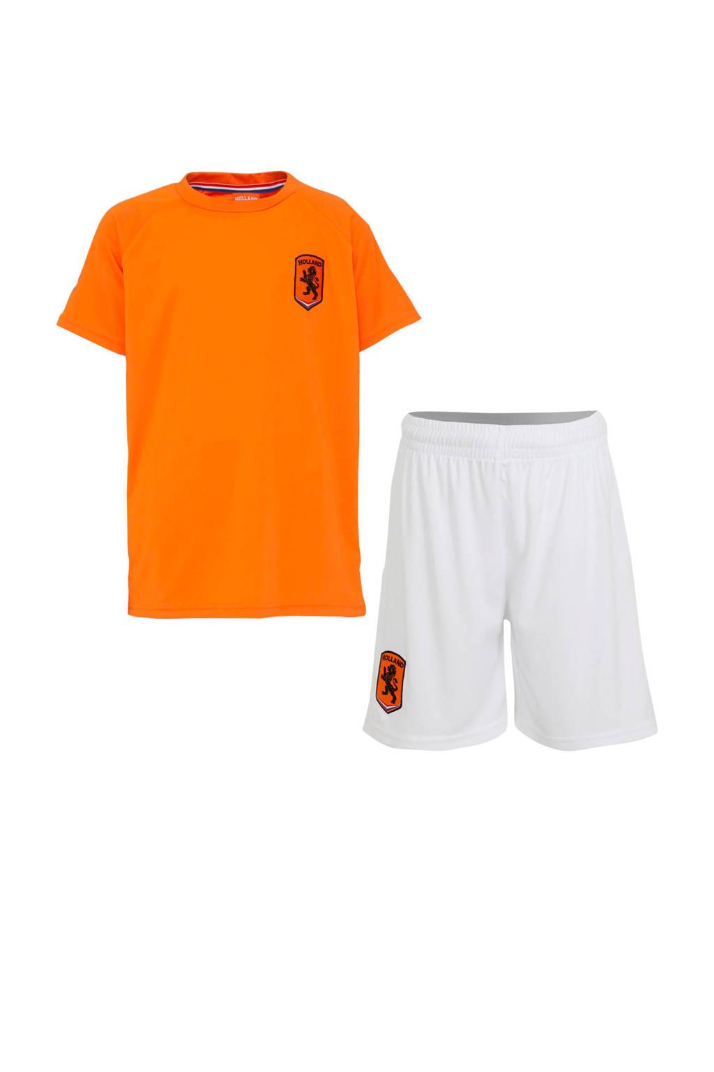 State of Football   Holland sportset oranje/wit, Oranje/wit