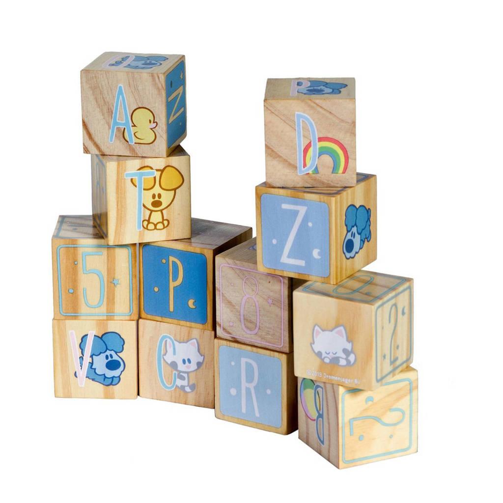 Woezel & Pip houten blokken