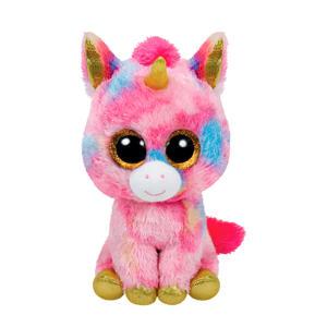 Beanie Boo's Fantasia Unicorn knuffel 15 cm