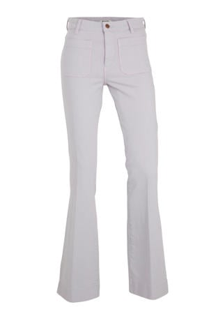 flared jeans lila