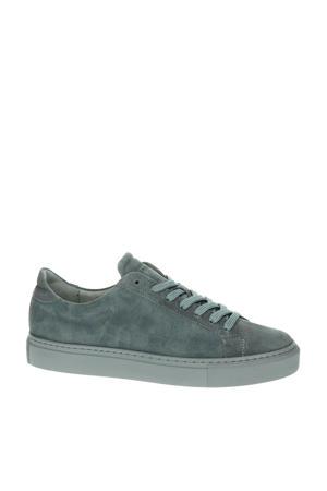 Type  suède sneakers grijs