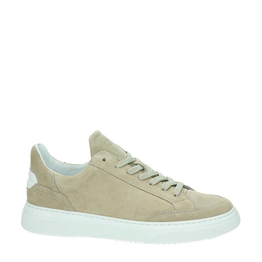 Garment Project Off Court  suède sneakers beige, Beige/wit