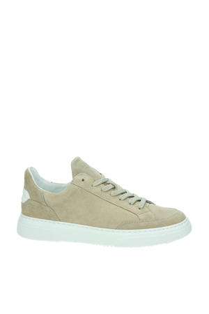 Off Court  suède sneakers beige