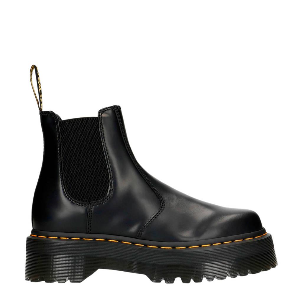 Dr. Martens Quad   leren chelsea boots zwart, Zwart