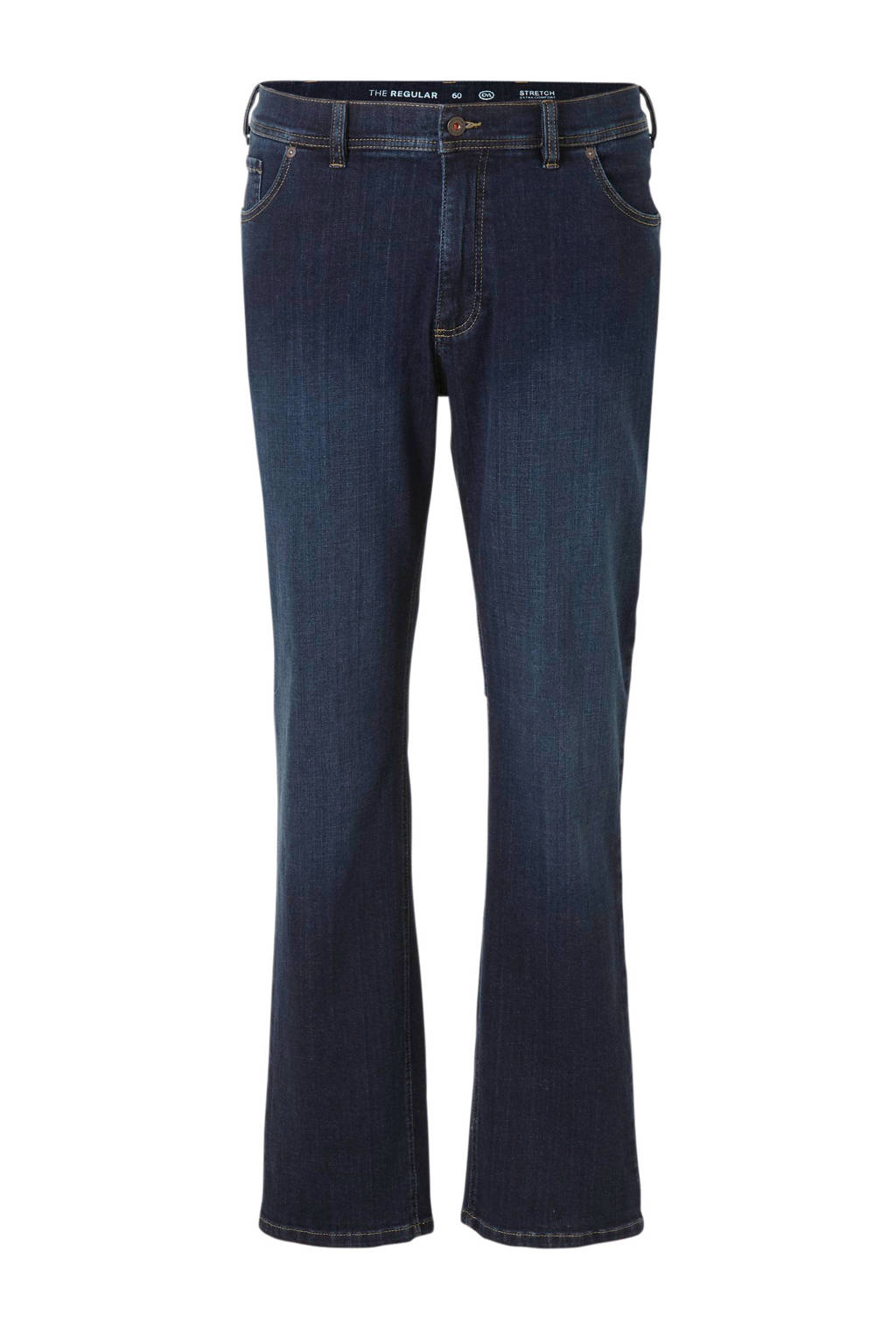 C&A regular fit jeans donkerblauw, Donkerblauw