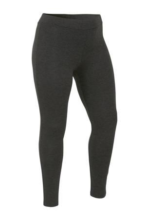 gemêleerde legging grijs