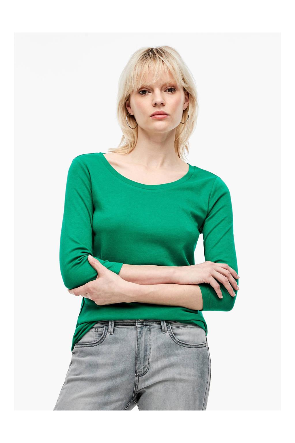 Q/S designed by longsleeve groen, Groen