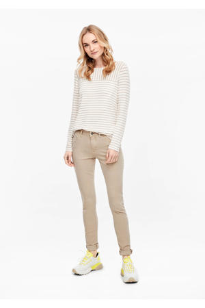skinny jeans beige