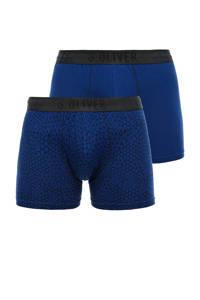 s.Oliver boxershort (set van 2), Blauw