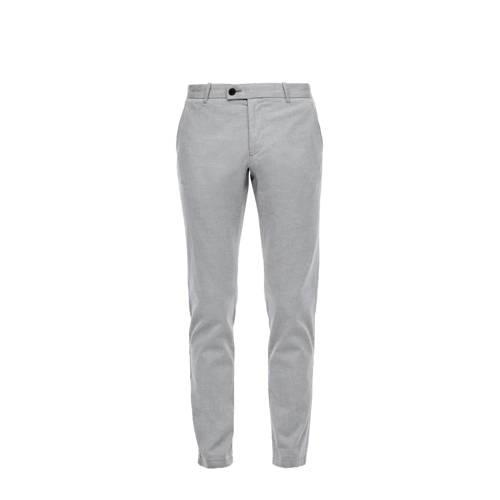 s.Oliver BLACK LABEL slim fit pantalon grijs