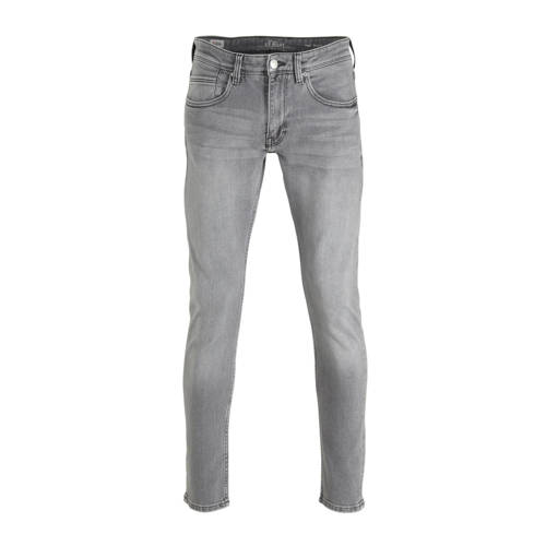 s.Oliver slim fit jeans grijs