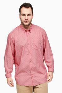 s.Oliver regular fit overhemd rood, Rood