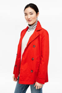 s.Oliver trenchcoat rood, Rood