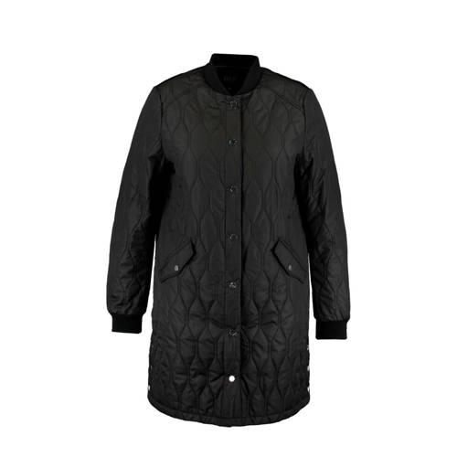 MS Mode gewatteerde jas zwart