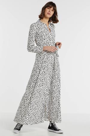 blousejurk Jonna met stippen dot print