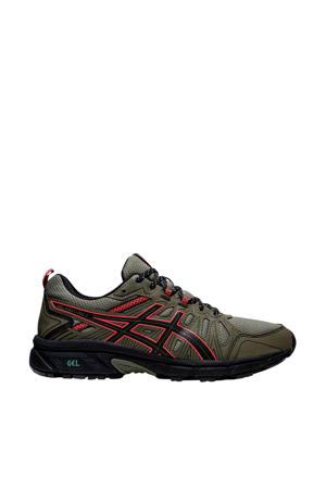 Gel-Venture 7 hardloopschoenen kaki/zwart