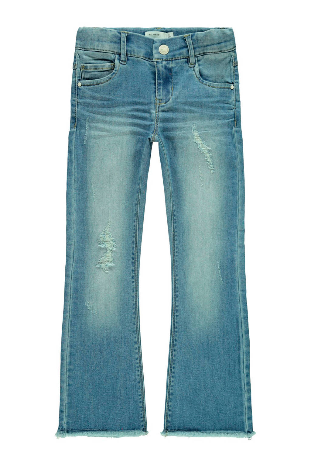 NAME IT KIDS bootcut jeans Polly stonewashed, Stonewashed