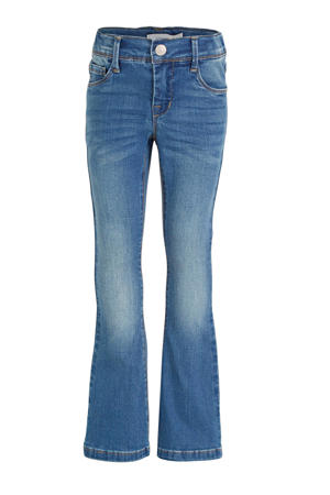 flared jeans NKFPOLLY stonewashed