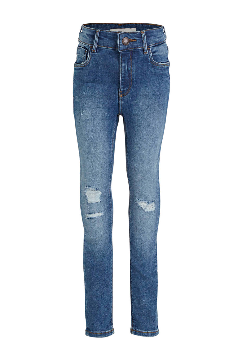 NAME IT KIDS high waist skinny fit jeans Polly stonewashed, Stonewashed