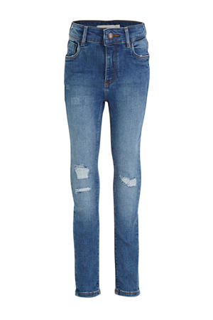 high waist skinny fit jeans Polly stonewashed