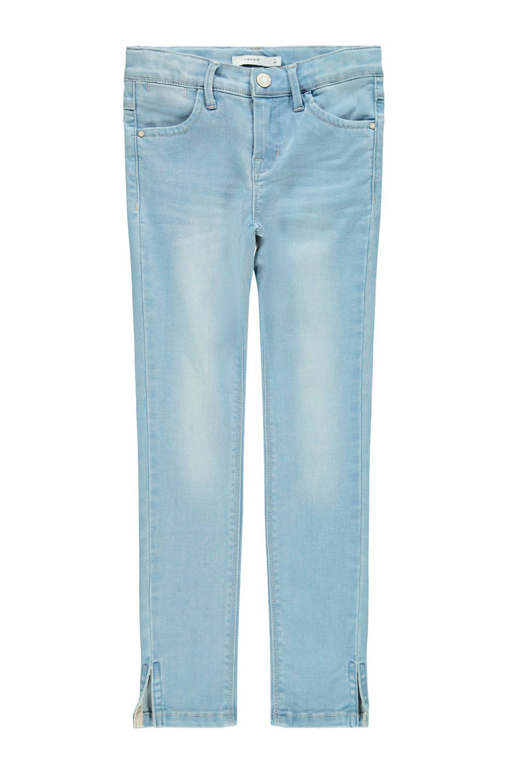 NAME IT KIDS cropped skinny jeans Polly light denim bleached, Light denim bleached